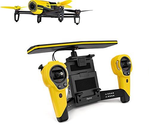 Parrot-BeBop-Drone-avec-Sky-Controller-Jaune-pour-SmartphoneTablette-0