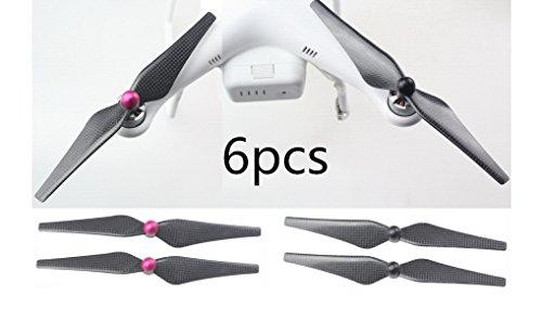 AFUNTA-3-jeux-Paires-9-Black-9443-en-fibre-de-carbone-Hlice-auto-verrouillage-auto-serrant-Hlice-Props-CW-CCW-Pour-DJI-Phantom-1-FC40-2-Vision-plus-0