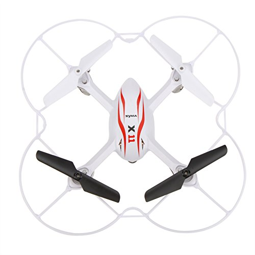 GoolRC-Syma-X11-Mini-24G-4CH-Biomimtique-Conception-6-Axes-Gyro-RC-360-Degr-Quadcopter-w-Protecteur-Propeller-0