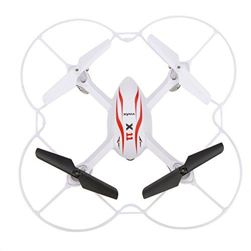 GoolRC-Syma-X11-Mini-24G-4CH-Biomimtique-Conception-6-Axes-Gyro-RC-360-Degr-Quadcopter-w-Protecteur-Propeller-0