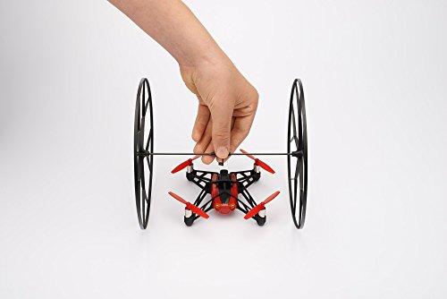 Parrot-PF070073-Jeu-de-2-rouesaxe-pour-MiniDrone-Rolling-Spider-Noir-0-3