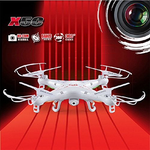 Syma-X5C-Explorers-24G-4-Chanel-6-Axis-UFO-RC-Quadcopter-Mode-2-Avec-HD-Camra-RTF-0-1