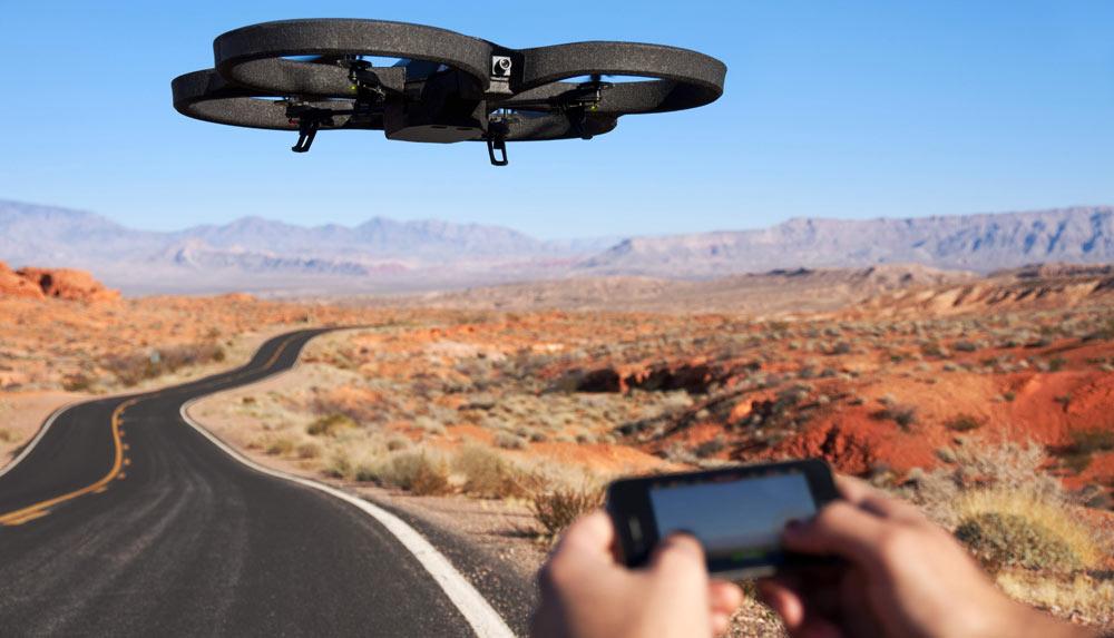 Drone en promo