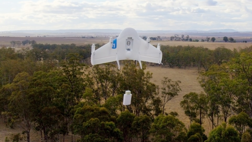 Project Wing Google drone