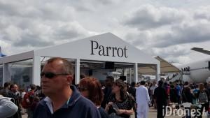Stand Parrot ou Salon du Bourget