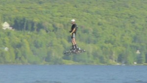 Drone hoverboard