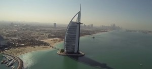 Dubai filmé par un drone