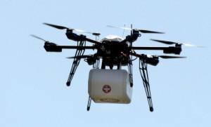 Flirtey livraison par drone