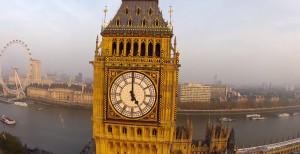 Londres filmé par un drone