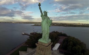 New york vu par un drone