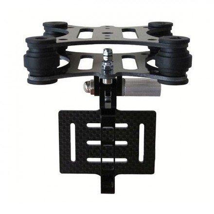 nacelle drone dji 4 axes en carbone pour gopro hero 3 fpv drone pas cher. Black Bedroom Furniture Sets. Home Design Ideas