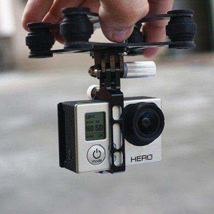 nacelle drone dji  axes en carbone pour gopro hero  fpv
