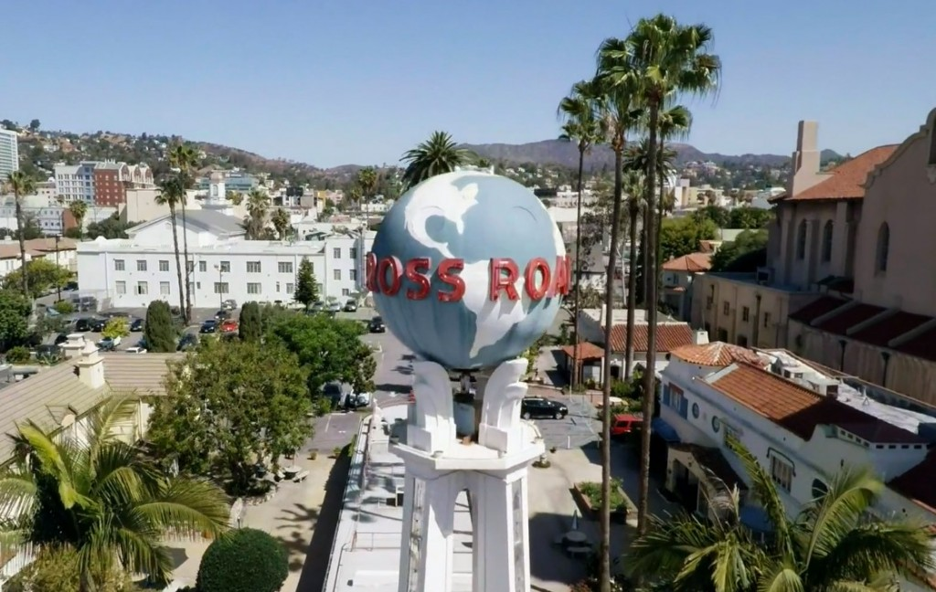 Los Angeles filmé par un drone