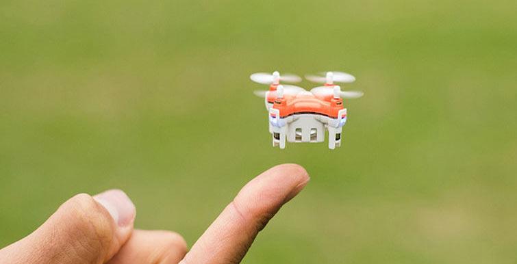 Plus petit drone au monde