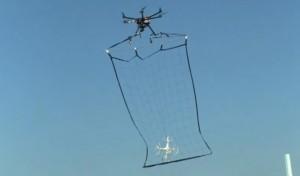 Drone police pour attraper les drones