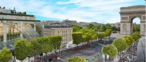 Paris Drone Fest sur les Champs-Élysées