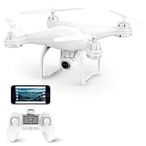 Potensic-Drone-GPS-FPV-T25-Hlicoptre-Camra-120-Grand-Angle-Rglable-HD-1080P-Tlcommande-9-axe-Gyro-Fonction-Suivez-Moi-Retour--la-Maison-Maintien-daltitude-sans-Tte-Batterie-Intelligente-0