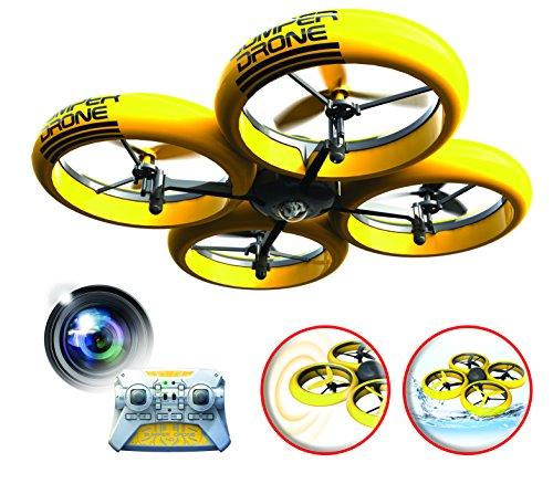 SilverLit-Bumper-Drone-Incassable-avec-camra-HD-Couleur-Jaune-0